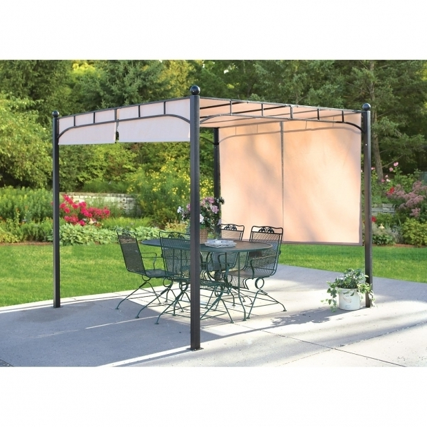 Adjustable Shade Pergola Threshold