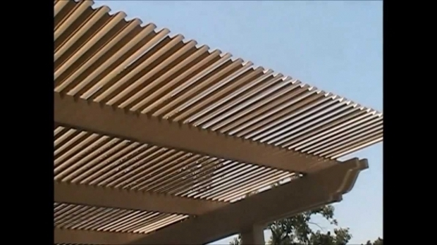 Incredible Aluminum Pergola Kits With Adjustable Louvers Adjustable Louvered Pergola Opening Closing Youtube