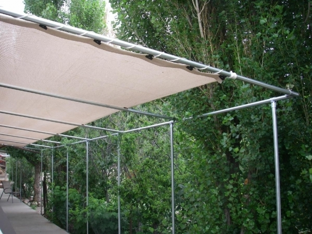 Attaching Shade Cloth To Pergola