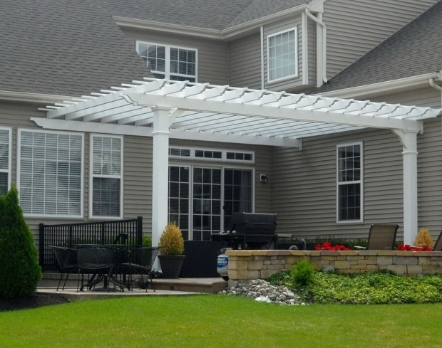 Incredible Wall Mounted Pergola Plans Wall Mounted Pergola Designs Home Design Ideas