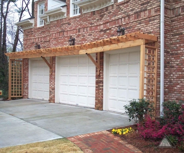 Inspiring Garage Door Pergola Garage Door Pergola Kit Pergola Design Ideas