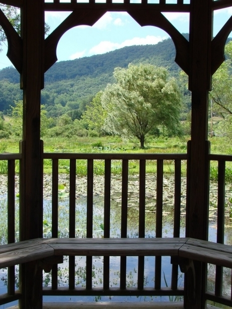 Inspiring Gazebo Franklin Nc Panoramio Photo Of Gazebo View Of Water Gardens In Cowee Valley