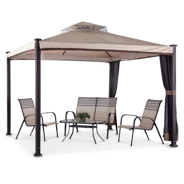Marvelous 10x10 Gazebo Frame Famous Maker Everton 10x10 Gazebo 622708 Gazebos At