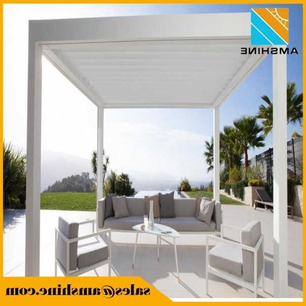 Marvelous Aluminum Pergola Kits With Adjustable Louvers Aluminum Pergola Kits Aluminum Pergola Kits Suppliers And