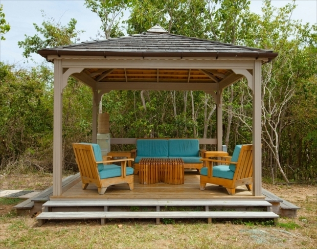 Marvelous Cheap Wooden Gazebo Kits Deck Canopy Cozy Outdoor Frameless Simple Wooden Gazebo Gazebo