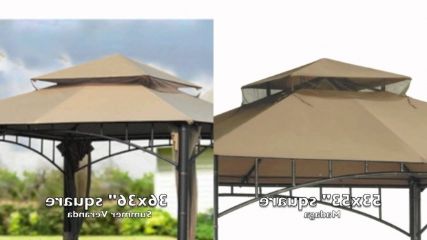 Outstanding Madaga Gazebo Replacement Canopy Target Madaga Gazebo Replacement Canopy Youtube