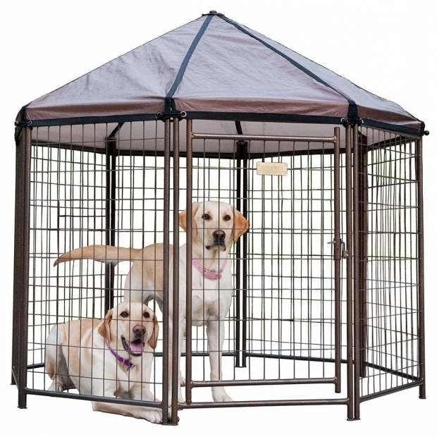 Picture of Advantek Pet Gazebo Outdoor Kennel Advantek The Original Pet Gazebo Outdoor Kennel Dog Pet Animal