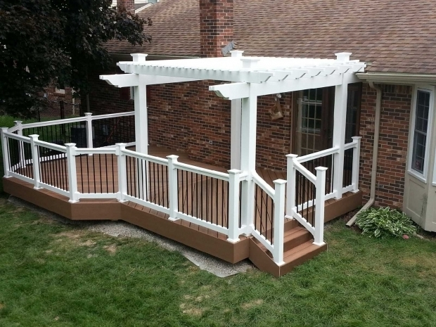 Picture of Aluminum Pergola Kits Vinyl Aluminum Pergola Kits Decks Fencing Contractor Talk