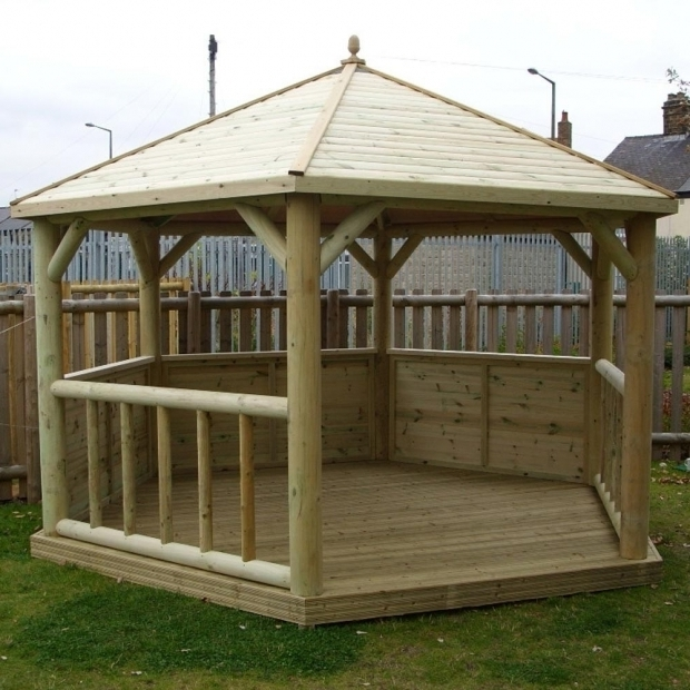 Picture of Cheap Wooden Gazebo Cheap Wooden Gazebo Kits Uk Boisholz