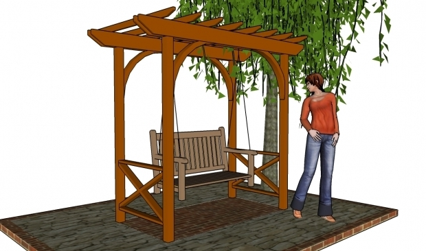 Picture of How To Build A Small Pergola Patio Pergola Plans Free Pergola Plans How To Build A Pergola