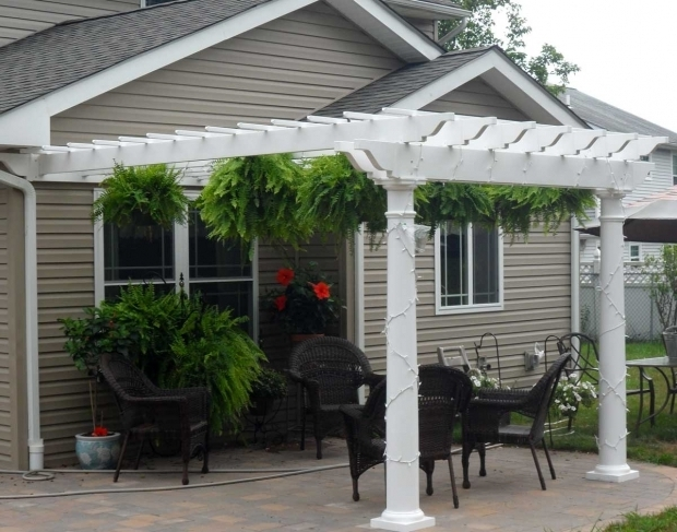 how to build an attached pergola
