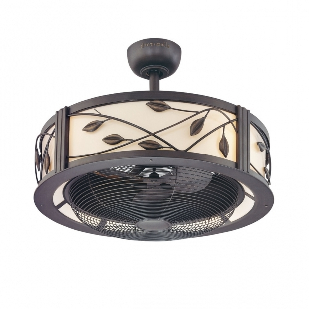 Remarkable Gazebo Fan Lowes Shop Allen Roth Eastview 23 In Aged Bronze Downrod Mount Indoor