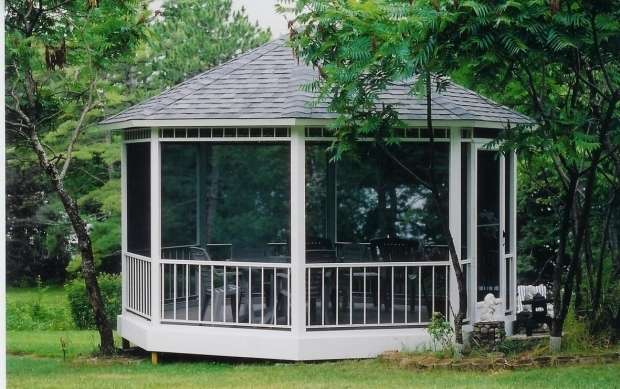 Remarkable Screened Gazebo Kits Magnificent Screened Gazebo Kits Multiplepointspic450h Outdoor