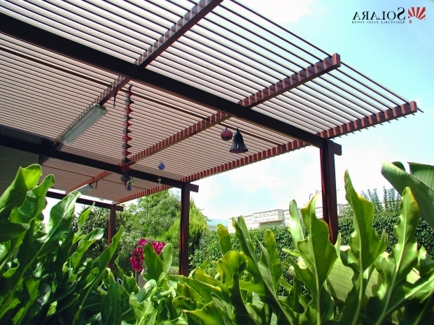 Aluminum Pergola Kits With Adjustable Louvers