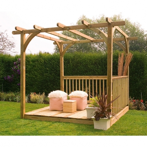Stunning Covered Pergola Kits Larchlap Ultima Pergola Patio Deck Kit 24 X 24 X 24m