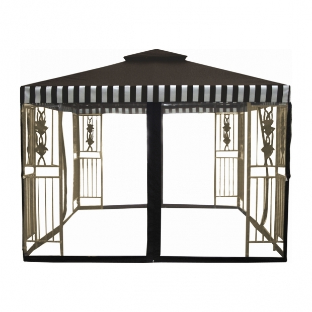 Stunning Dc America Gazebo Shop Dc America Desert Stone Steel Square Screened Gazebo