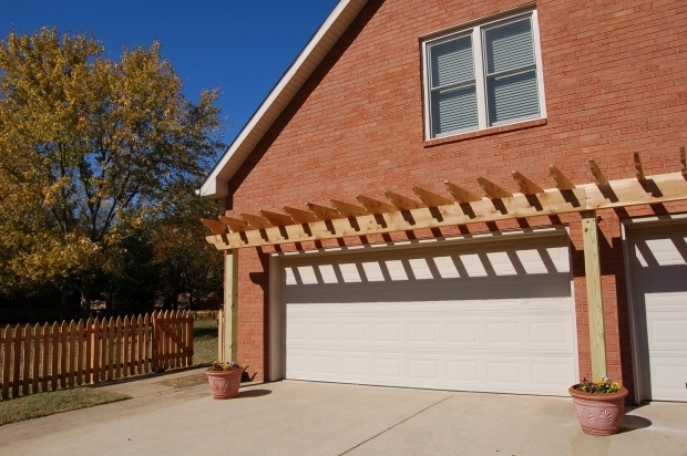Stunning Over Garage Door Pergola Garage Door Trellis Or Arbors A Frame Garage Three Car Garage 2