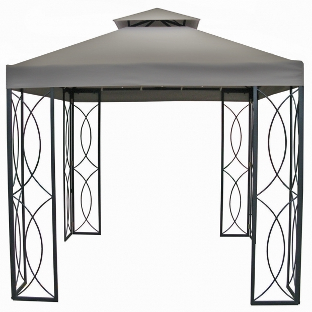 Stylish Garden Treasures 8x8 Gazebo Contemporary Garden Patio Outdoor With Treasures Lowes Kit Gazebo
