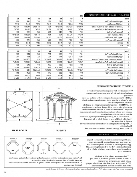 Stylish Gazebo Plans Octagon Outdoor Octagon Gazebo Plans For Sale Octagonal Free Floor Navpa2016