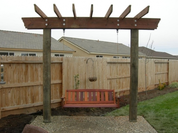 Stylish Pergola Swing Plans Pergola Swing Arbor Plans Pergola Swing Plans Images
