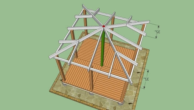 Stylish Wooden Gazebo Roof Ideas Wooden Gazebo Plans Build A Wooden Gazebo Httpwww