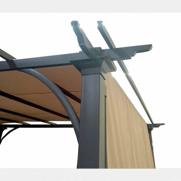 Wonderful Adjustable Shade Pergola Threshold Replacement Canopy For Threshold Pergola Riplock 350 Garden Winds