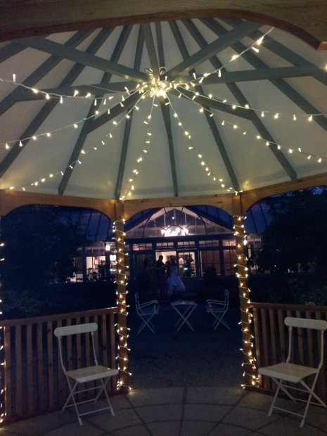 Wonderful Gazebo With Lights Wonderful Outdoor Gazebo Lighting Batimeexpo Furniture