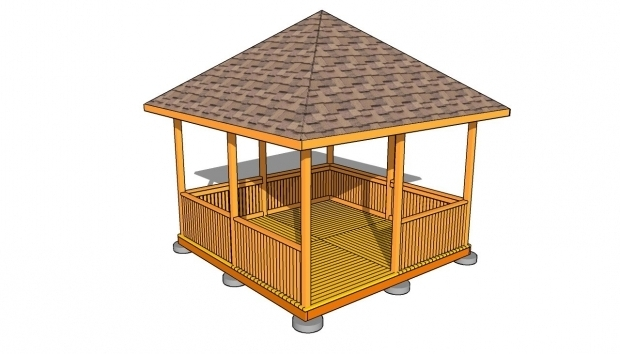 Alluring Gazebo Blueprints Rectangular Gazebo Plans Myoutdoorplans Free Woodworking Plans