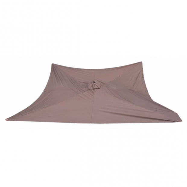 Amazing Allen And Roth Gazebo Replacement Top Shop Allen Roth Brown Replacement Canopy Top At Lowes