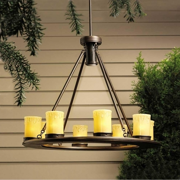 Amazing Battery Operated Outdoor Chandeliers For Gazebos Battery Operated Chandelier Ideas Ideas With Battery Operated