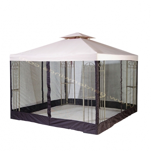 Amazing Garden Treasures Gazebo Garden Treasures 10 X 10 Steel Gazebo S 577 1 Replacement Canopy