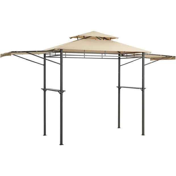 Amazing Mainstays Grill Gazebo Mainstays Grill Gazebo With Adjustable Awning 8 X 4 Walmart
