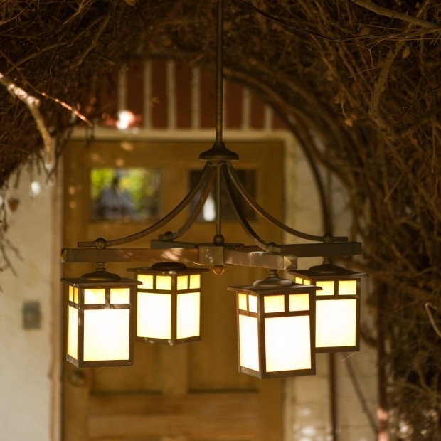 Outdoor Gazebo Chandelier Lighting