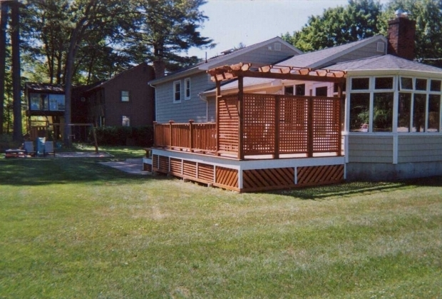 Amazing Pergola Privacy Screen Deck Pergola Privacy Screen Deck Design And Ideas