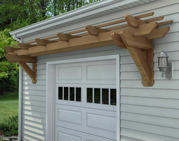 Wall Mounted Pergola