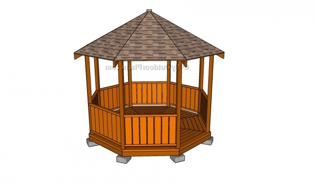 Awesome Gazebo Blueprints Rectangular Gazebo Plans Myoutdoorplans Free Woodworking Plans