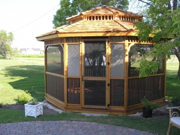 Awesome Gazebo Wood Kit Cedarshed 14 Ft Octagon Gazebo Two Tier Roof Option 148ttr