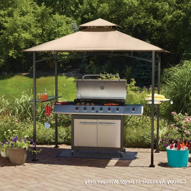 Beautiful Mainstays Grill Gazebo Mainstays Grill Shelter Replacement Canopy Garden Winds