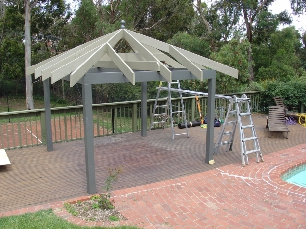 Metal Gazebo Roof Ideas
