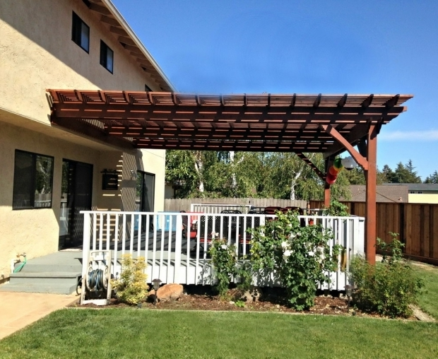 Beautiful Pergola Attached To Roof Pergola With Roof Covered Home Design Ideas For Pergola Attached