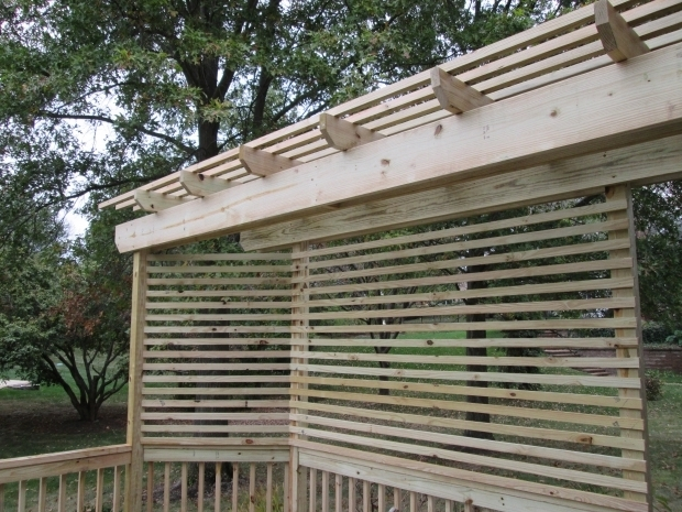Beautiful Pergola Privacy Screen St Louis Mo Pergola Deck Designs Archadeck St Louis Decks