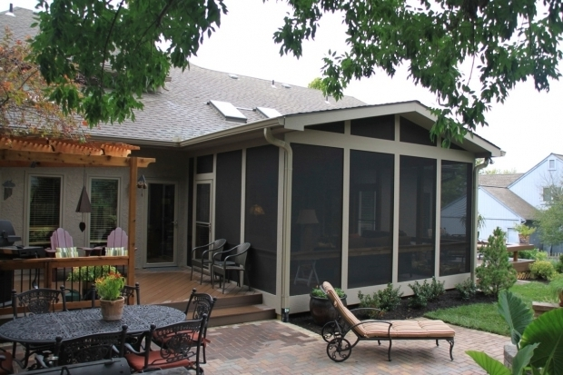 Beautiful Screened In Pergola Custom Screen Porches Archadeck Of Kansas City