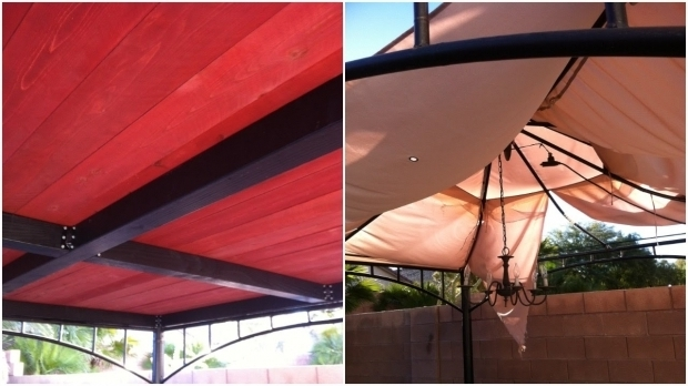 Delightful Gazebo Roof Replacement Ideas Turn Your Old Ripped Target Gazebo Into This Replacement Youtube