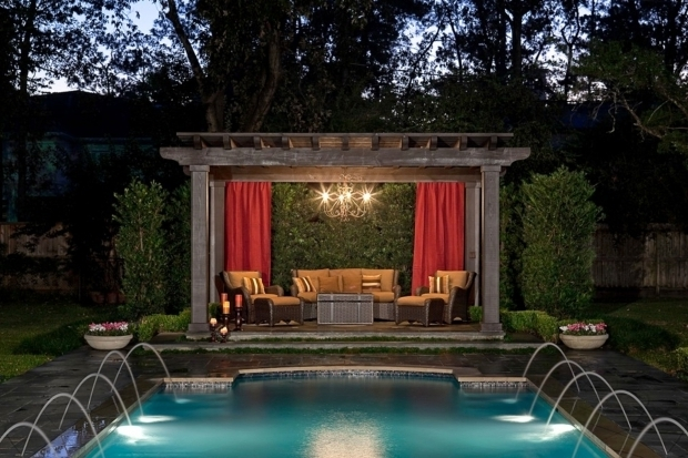 Delightful Outdoor Pergola Curtains Curtain Call The Guide To Pergola Curtains