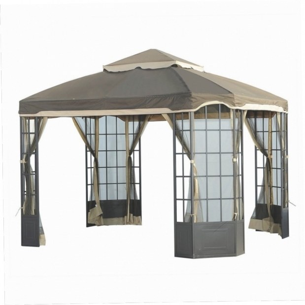 how to make a gazebo canopy
