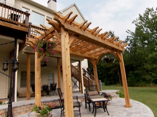 Fantastic Diy Garden Pergola How To Build A Garden Pergola How Tos Diy
