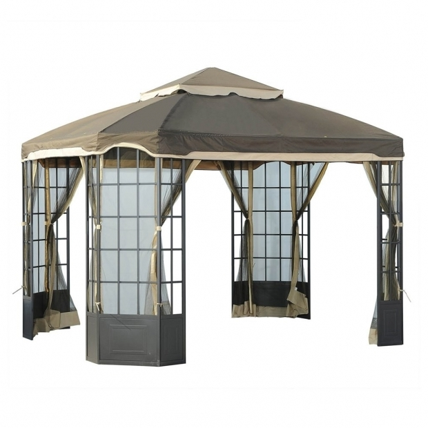 Fantastic Garden Oasis Bay Window Gazebo Garden Oasis Mission Creek 10ft X 12ft Hardtop Gazebo Manual Ask