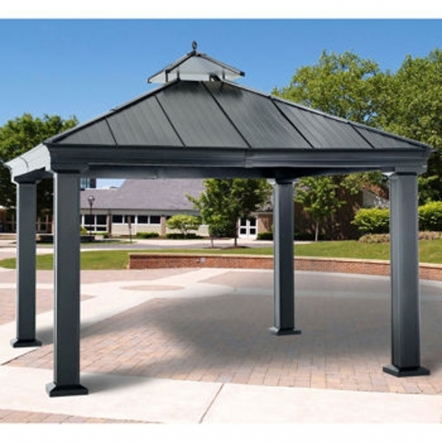 Fantastic Member's Mark Royal Hardtop Gazebo Members Mark Royal Hardtop Gazebo Reviews Dropress Gazebos