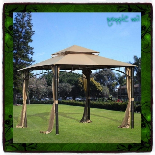 Fantastic Metal Pergola With Canopy 10 X 10 Gazebo Metal Steel Roof Outdoor Patio Pergola Canopy Tent