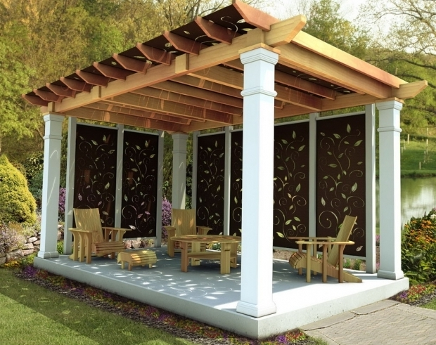 Fantastic Pergola Privacy Screen Pergola Privacy Screen Arlene Designs